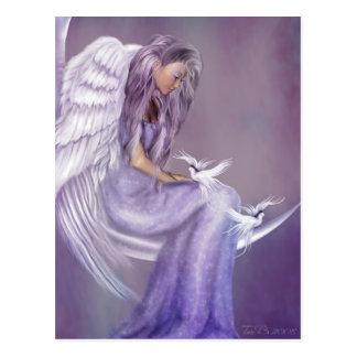 I Believe In Angels Postcard