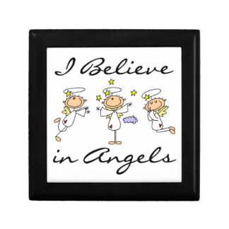 I Believe in Angels T-shirts and Gifts Gift Box