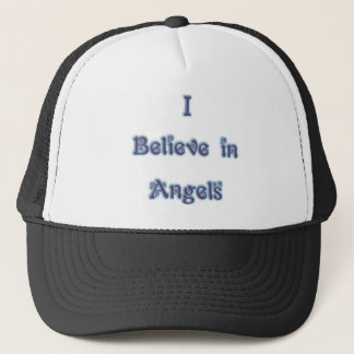 I Believe in Angels Trucker Hat