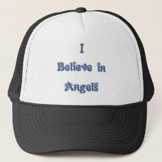 I Believe in Angels Trucker Hat