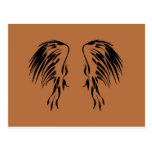 I believe in Angels wing design Post Card