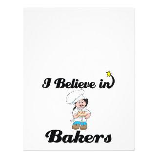 i believe in bakers 21.5 cm x 28 cm flyer