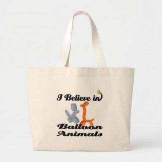 i believe in balloon animals bag