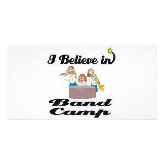 i believe in band camp photo greeting card