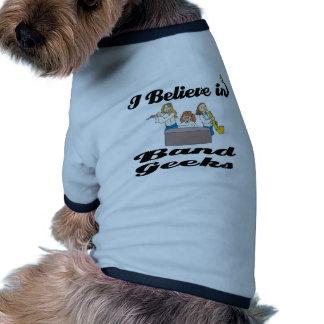 i believe in band geeks ringer dog shirt