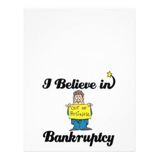 i believe in bankruptcy 21.5 cm x 28 cm flyer