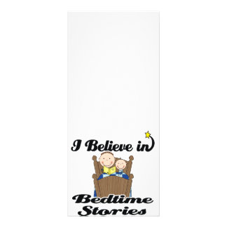 i believe in bedtime stories boys rack cards