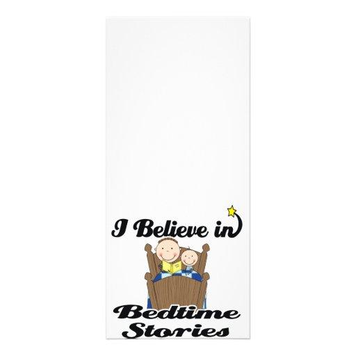 i believe in bedtime stories boys rack cards
