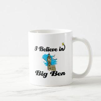 i believe in big ben coffee mugs