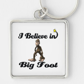 i believe in big foot key chains