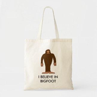"""""""I believe in bigfoot"""" bag"""