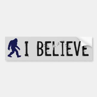 I Believe in Bigfoot Bumper Sticker