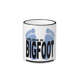 I Believe in Bigfoot Coffee Mugs