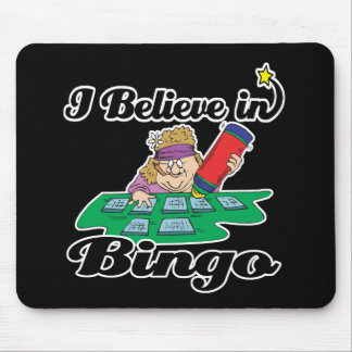 i believe in bingo mouse mat