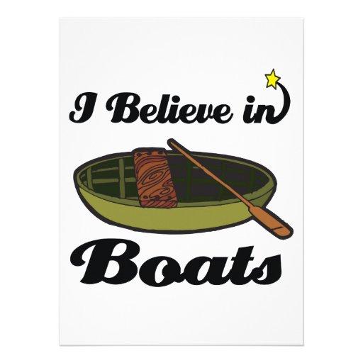 i believe in boats custom invite