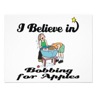 i believe in bobbing for apples invitation
