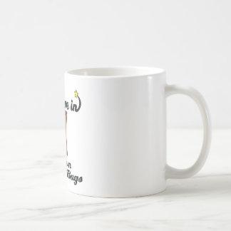 i believe in brown paper bags coffee mug