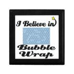 i believe in bubble wrap keepsake boxes