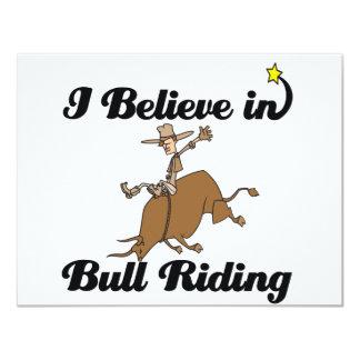 i believe in bull riding card