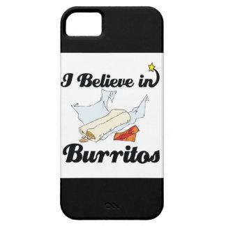 i believe in burritos iPhone 5 cover