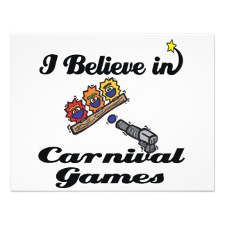 i believe in carnival games custom announcements
