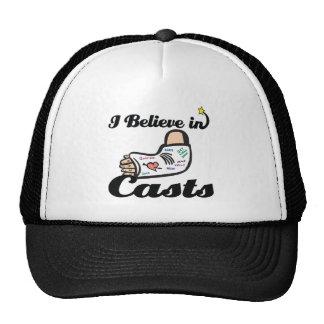 i believe in casts cap
