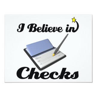 i believe in checks card