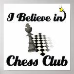 i believe in chess club