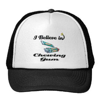 i believe in chewing gum cap