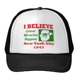 I Believe in Christmas Mesh Hats