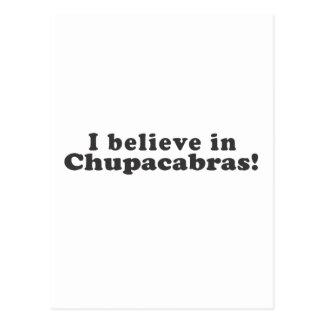 I Believe in Chupacabras! Postcard