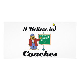 i believe in coaches photo cards