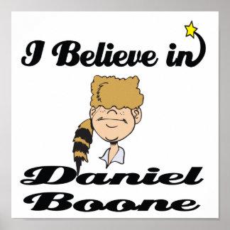 i believe in daniel boone poster