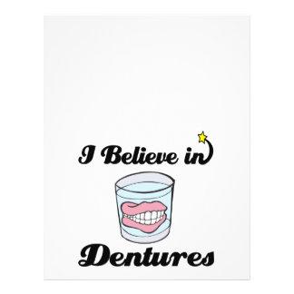 i believe in dentures 21.5 cm x 28 cm flyer