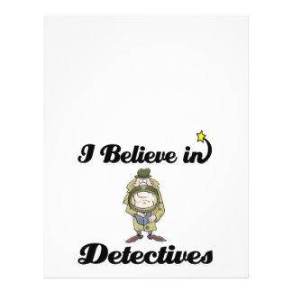 i believe in detectives flyer