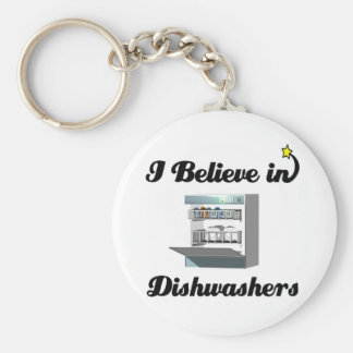 i believe in dishwashers key ring