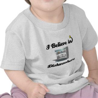 i believe in dishwashers shirts