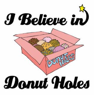 i believe in donut holes photo sculpture