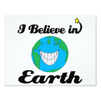 i believe in earth announcements