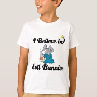 i believe in evil bunnies T-Shirt