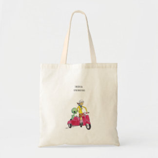 i believe in extraterrestrials tote bag