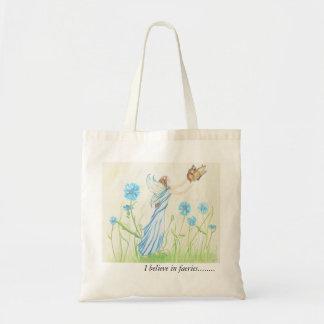 I believe in faeries tote bag.....