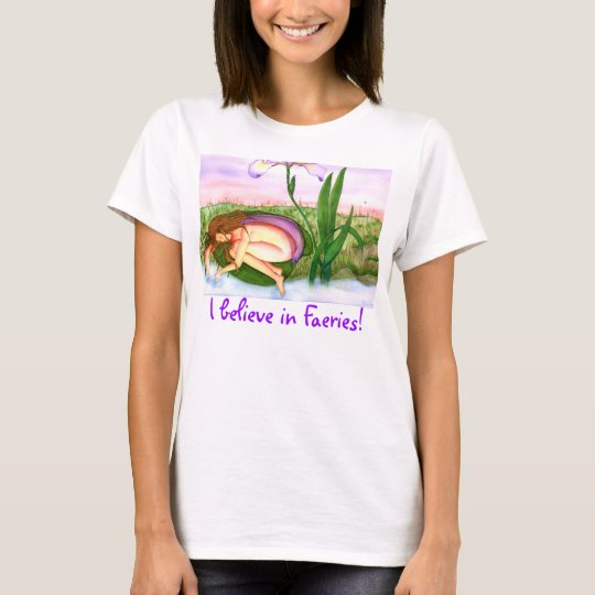 """I believe in Faeries!"" Women's Basic T-Shirt"