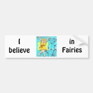 I believe in fairies bumper stickers