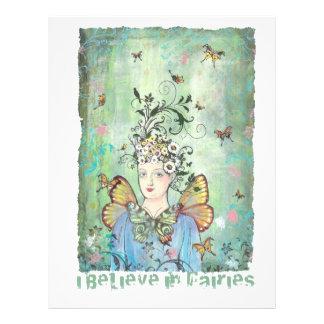 I believe in fairies flyer