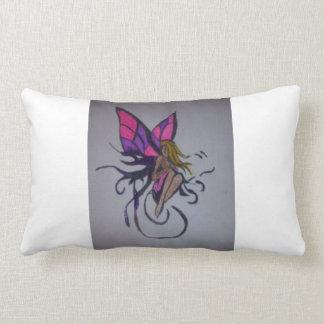 I Believe In #Fairies Lumbar Cushion
