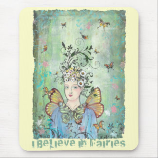 I believe in fairies mouse pad