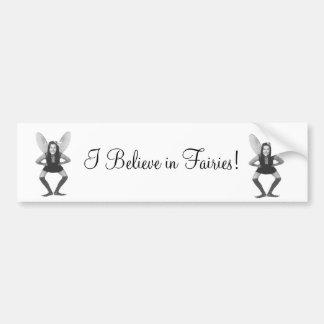 I Believe in Fairies Sticker Bumper Stickers