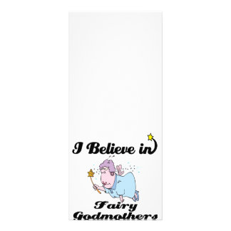i believe in fairy godmothers 10 cm x 23 cm rack card