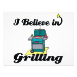i believe in grilling invitations